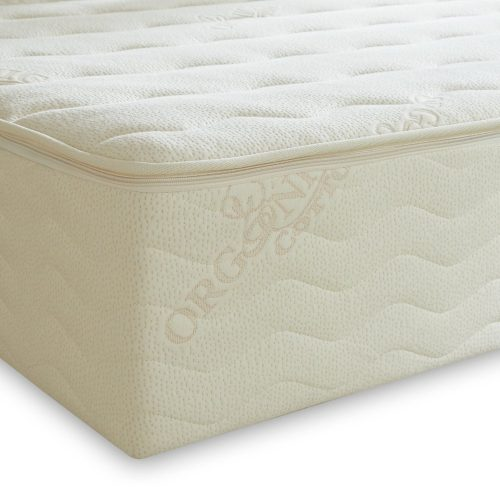 PlushBeds 9 Medium-Firm Botanical Bliss Latex Mattress - King