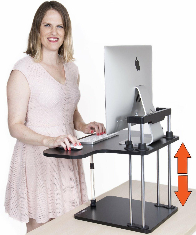 10 Best Height Adjustable Standing Desk Reviews 2018