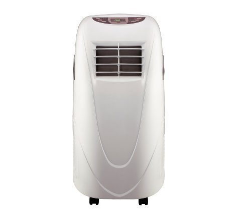 Shinco 10,000 BTU Portable Air Conditioner Cooling Fan with Remote Control in White