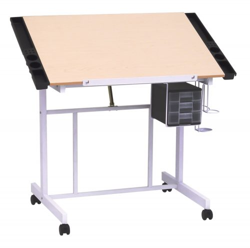 Studio Designs 13251 Deluxe Craft Station, White Maple