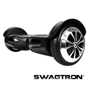 Swagtron T3 - UL2272 Certified Hands Free Two Wheel Self Balancing Electric Scooter with Bluetooth Speakers