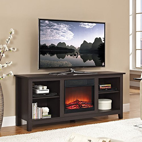 Top 10 best electric fireplace tv stand reviews2018 guide walker edison fireplace stand up to 400 square feet solutioingenieria Gallery