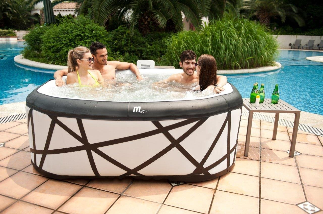 top 10 best inflatable hot tub reviews 2018 choice. Black Bedroom Furniture Sets. Home Design Ideas
