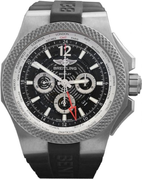 Breitling Bentley GMT Racing automatic-self-wind black mens Watch