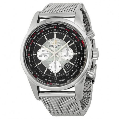 Breitling Transocean Unitime Swiss Automatic Mens Watch AB0510U4 BB62