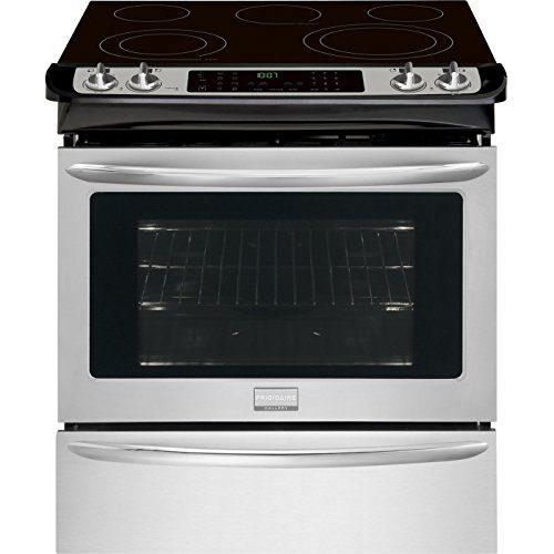 Frigidaire FGES3065PF Gallery 30 Stainless Steel Electric Slide-In Smoothtop Range - Convection