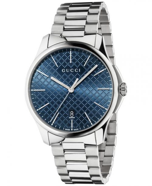 Gucci Unisex YA126316 G-Timeless Stainless Steel Bracelet Watch