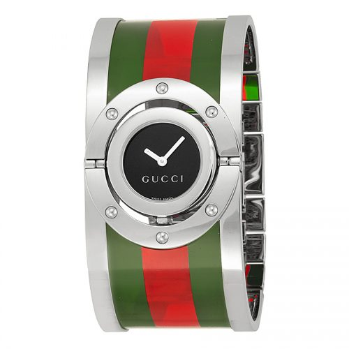 Gucci Women's YA112417 Twirl Stainless Steel Watch