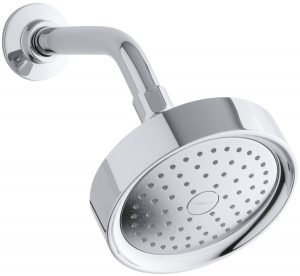 KOHLER K-965-AK-CP Purist Single Function Katalyst Showerhead, Polished Chrome