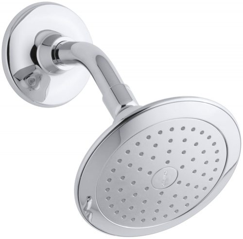 Kohler K-45123-CP Alteo Single-Function Katalyst Showerhead, Polished Chrome