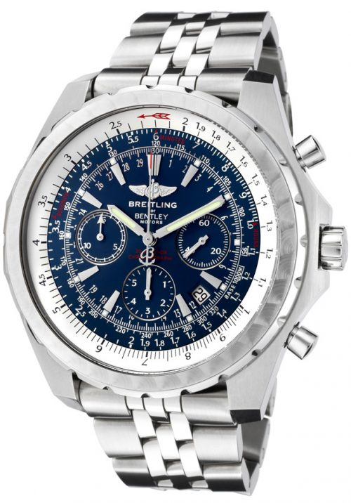 Mens Breitling Bentley Motors T Blue Dial Watch A2536313
