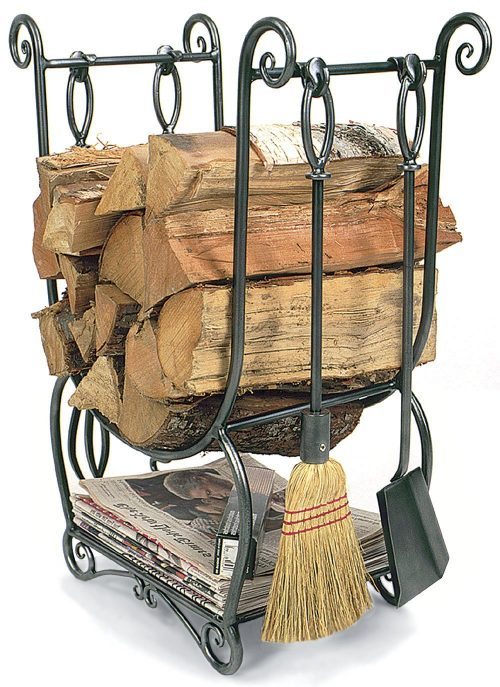 Minuteman International LCR-07 Country Wood Holder with Tools