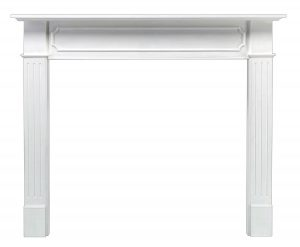 Pearl Mantels 520-48 Berkley Paint Grade Fireplace Mantel, Interior Opening 48-inch Wide by 42-inch High