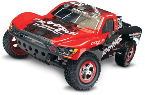 Traxxas 58034-1 Slash 2WD Short Course Racing Truck, Ready-To-Race (1.10-Scale), Colors May Vary