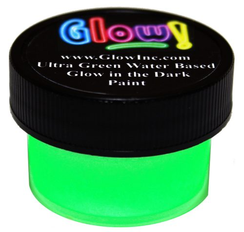 Ultra Green V10 Glow in the Dark Paint 1 2Oz