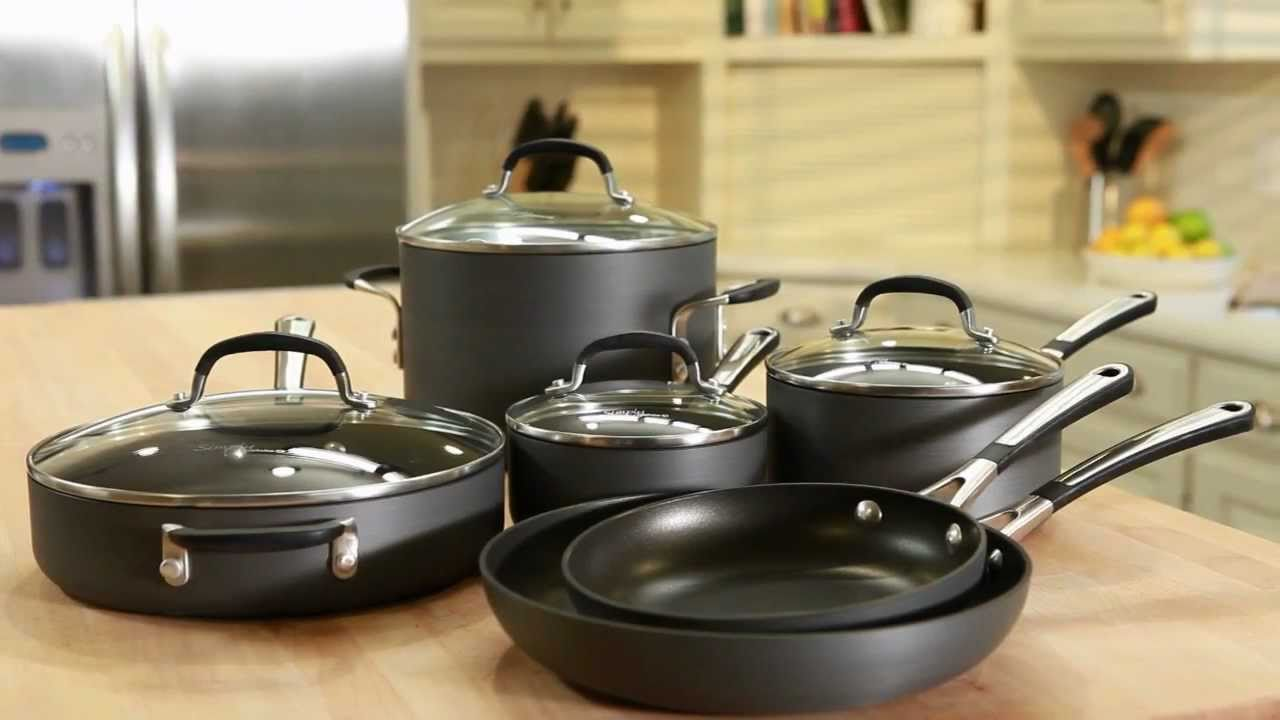Guide Hard Anodized Cookware Set