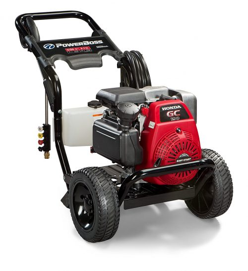 powerboss-20649-gas-powered-pressure-washer-3100-psi-2-7-gpm-honda-gc190-engine-with-easy-start-technology
