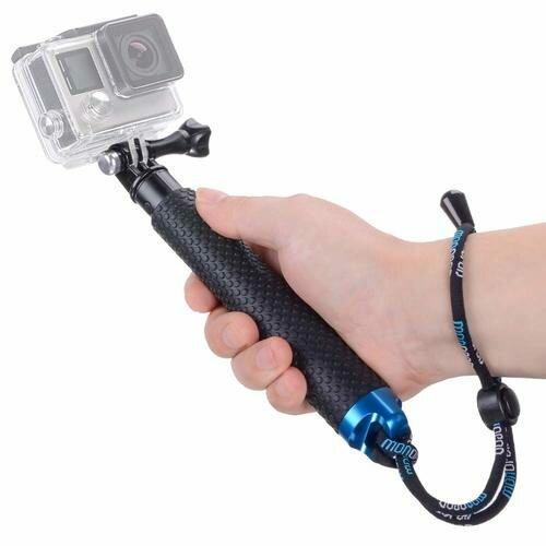 Vicdozia Portable Hand Grip Waterproof Extension Selfie Stick