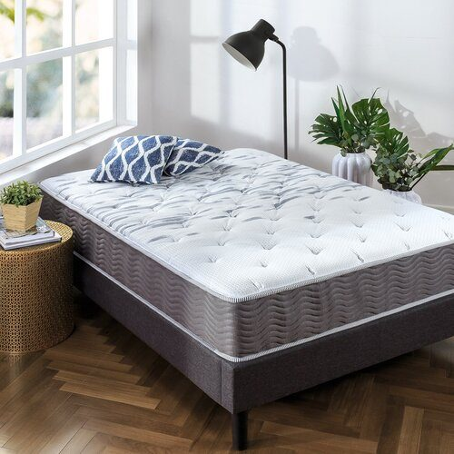 Zinus Extra Firm iCoil 10 Inch Support Plus Mattress