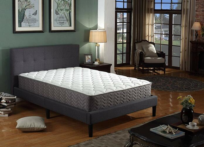 Linenspa 6-Inch Innerspring Mattress-In-A-Box Day Bed Quilted Trundle Foam
