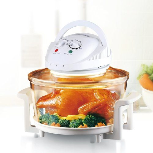 Rosewill R-HCO-15001 Infrared Halogen Convection Oven with Stainless Steel Extender Ring