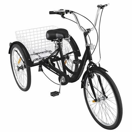 Happybuy 24 Inch Adult Tricycle Series