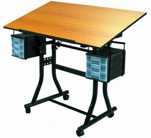 Martin Universal Design Creation Station Deluxe Drafting Table