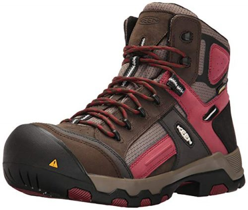 KEEN Utility Men's Davenport Mid Waterproof Industrial and Construction Shoe