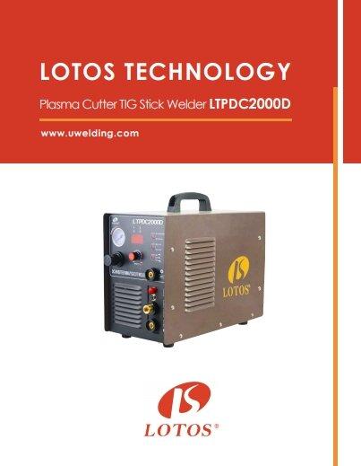 Lotos LTPDC2000D User Manual