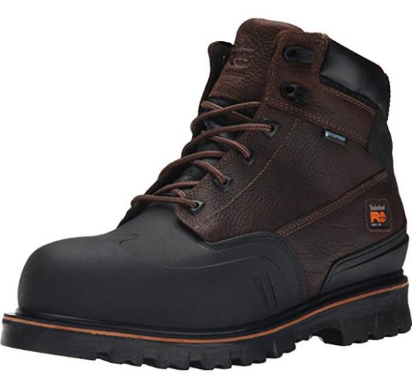 """Timberland PRO Men's 6"""" Rigmaster XT Steel-Toe Waterproof Work Boot"""