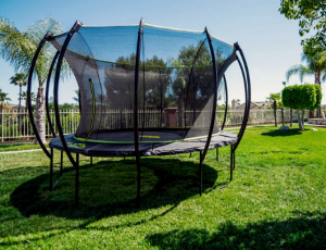 SkyBound Stratos Trampoline with Full Enclosure