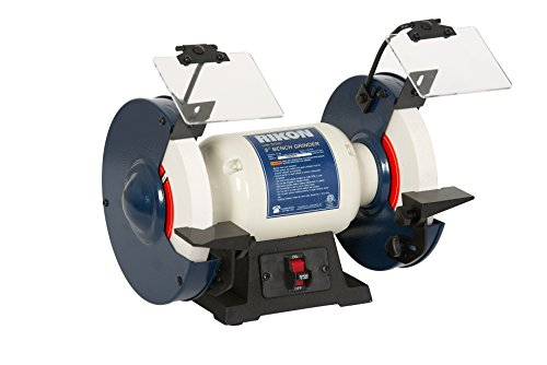 "RIKON Power Tools 80-805 8"" Slow Speed Bench Grinder"