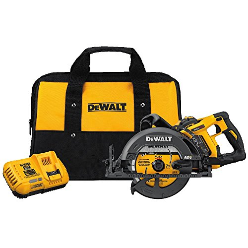 "DEWALT DCS577X1 FLEXVOLT 60V MAX 7-1/4"" Worm Style Saw Kit"