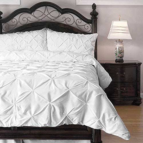 ExceptionalSheets' Pinch Pleat 3 Piece Comforter Set