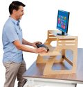 Adjustable Standing Desk Instantly Converts Any Desk to a Stand Up Desk...