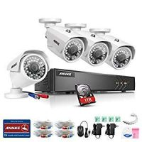 ANNKE Security Camera System 8-Channel 1080P Lite Video DVR with 1TB HDD...