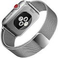 Apple Watch Band, 38mm Milanese Loop Mesh Smooth Stainless Steel Strap Freely...