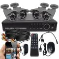 Best Vision Systems SK-DVR-DIY 8-Channel D1 DVR Security System with 4 800TVL...