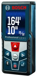 Bosch Bluetooth Enabled Laser Distance Measure with Color Backlit Display GLM 50...