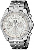 Breitling Men's BTA4436412-G679SS Bentley Analog Display Swiss Automatic Silver Watch