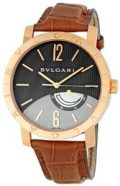 Bvlgari Rose Gold Anthracite Automatic Mens Watch BBP41BGL