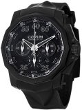 Corum Admiral Cup Black Hull 48 Mens Rubber Chrono Watch 753.934.95/0371 AN92