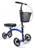 Deluxe Steerable Knee Walker Knee Scooter Knee Cycle Leg Walker Crutch Alternative...