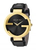 Gucci Unisex YA133312 Interlocking GRAMMY Special Edition Black Watch