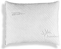 Hypoallergenic Pillow – ADJUSTABLE THICKNESS Bamboo Shredded Memory Foam Pillow - Kool-Flow...