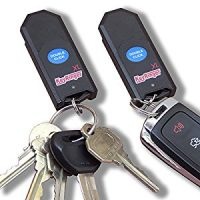 Key Finder Pair, Indisputably the Loudest, Long Life Replaceable Battery, High-Impact Polycarbonate...