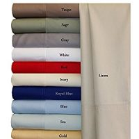 King Gray Silky Soft bed sheets 100% Rayon from Bamboo Sheet Set