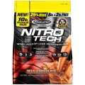 MuscleTech NitroTech Protein Powder, 100% Whey Protein with Whey Isolate, Milk Chocolate,...