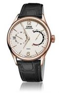 Oris Artelier Calibre 111Rose Gold White Dial Mens Watch 01 111 7700...