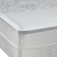 Queen Sealy Posturepedic Hybrid Series Trust Cushion Firm Mattress Set
